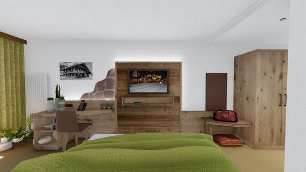 Visualisierung der Zimmer